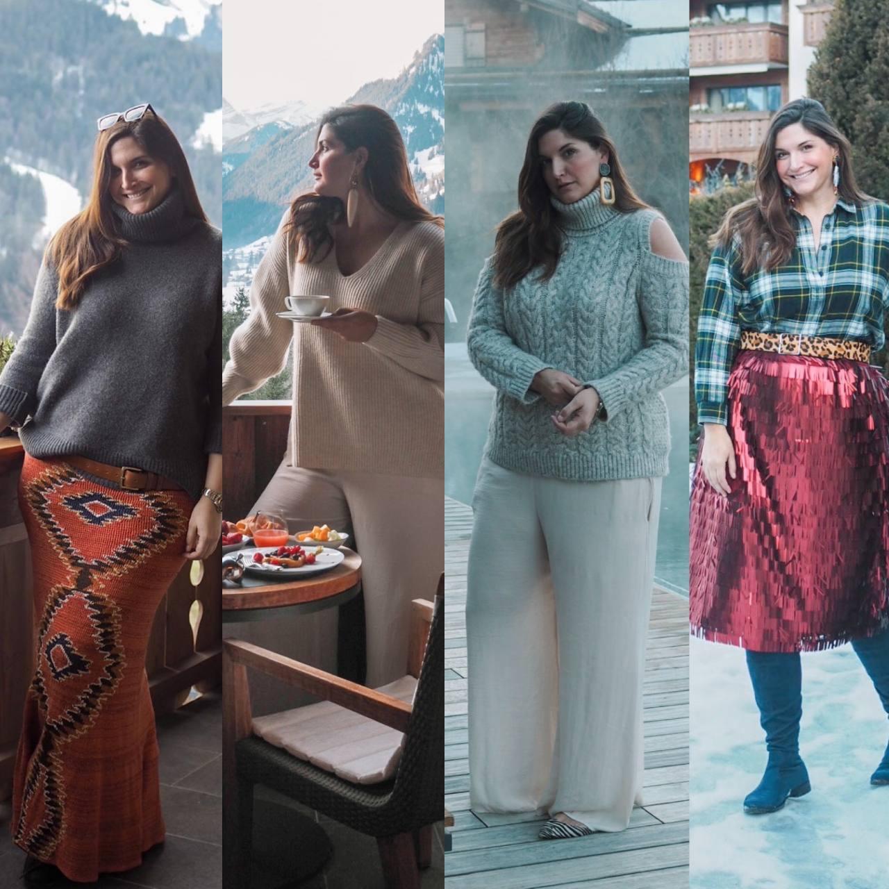 What I wore: Gstaad Switzerland